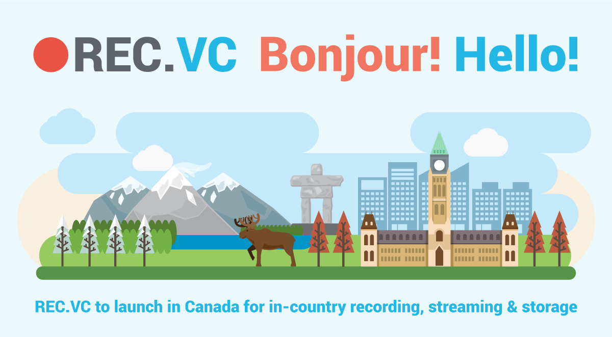 Video conference recording & streaming in Canada